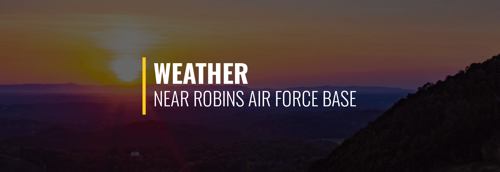 Robins AFB Weather