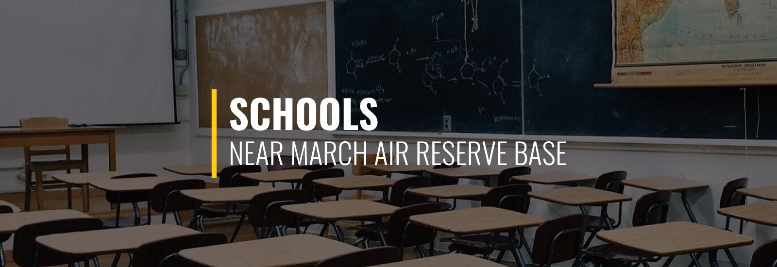 March Air Reserve Base Schools