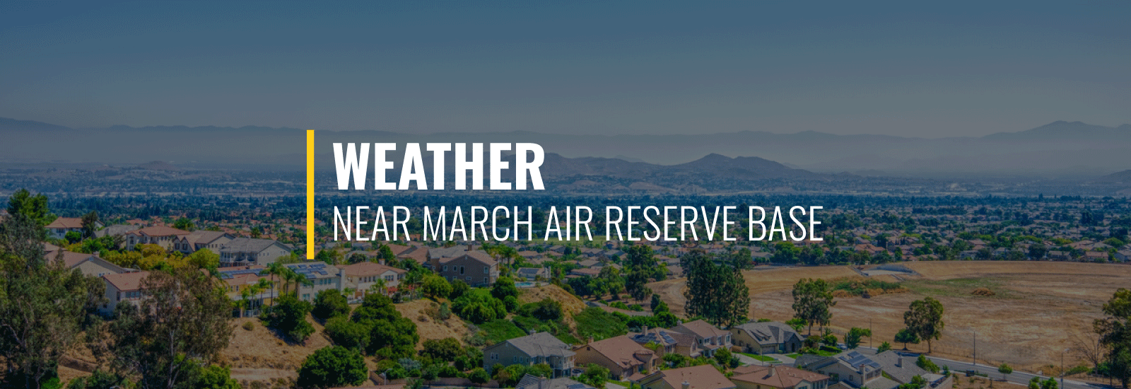 March ARB Weather