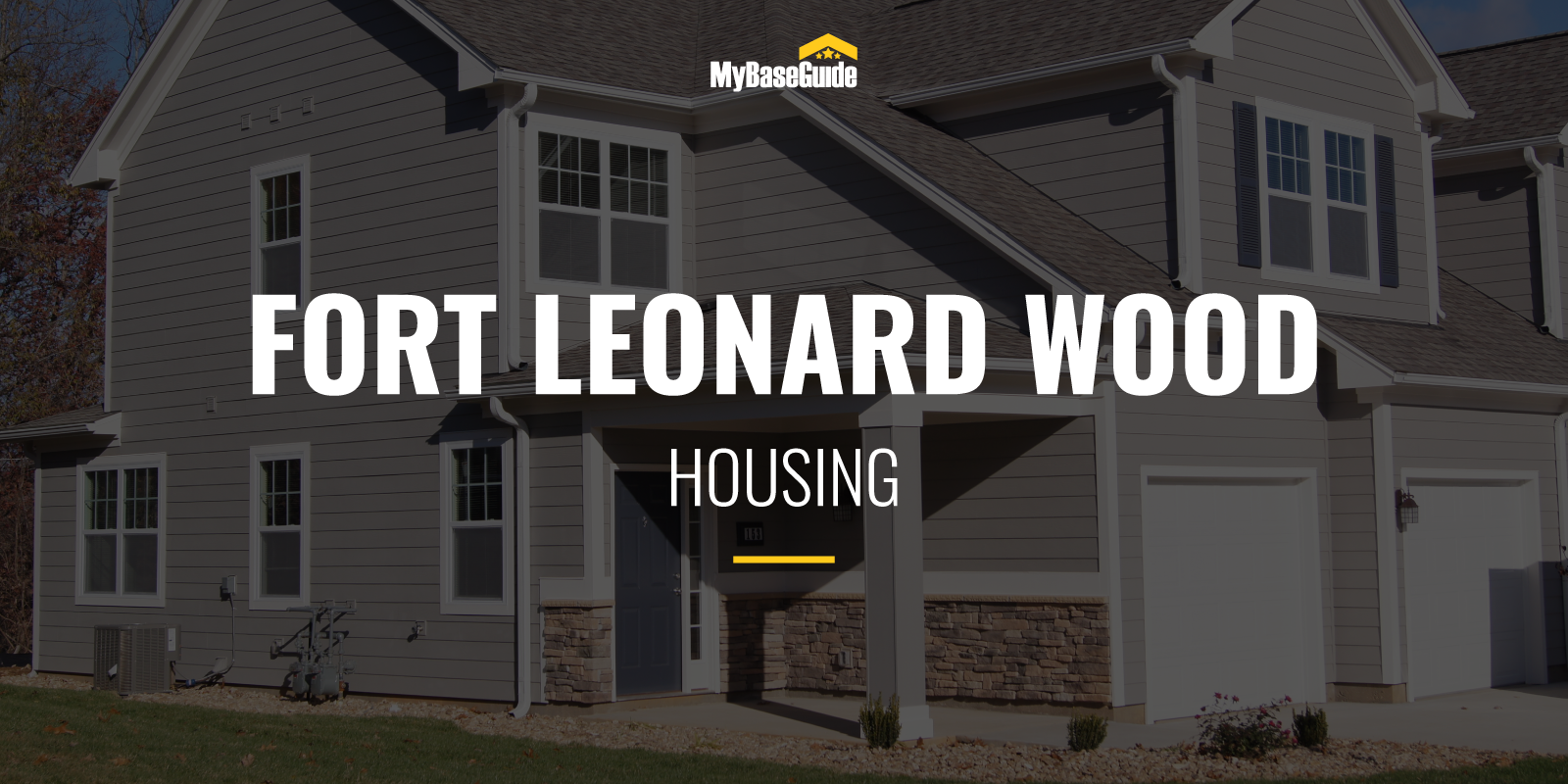 Fort Leonard Wood Housing
