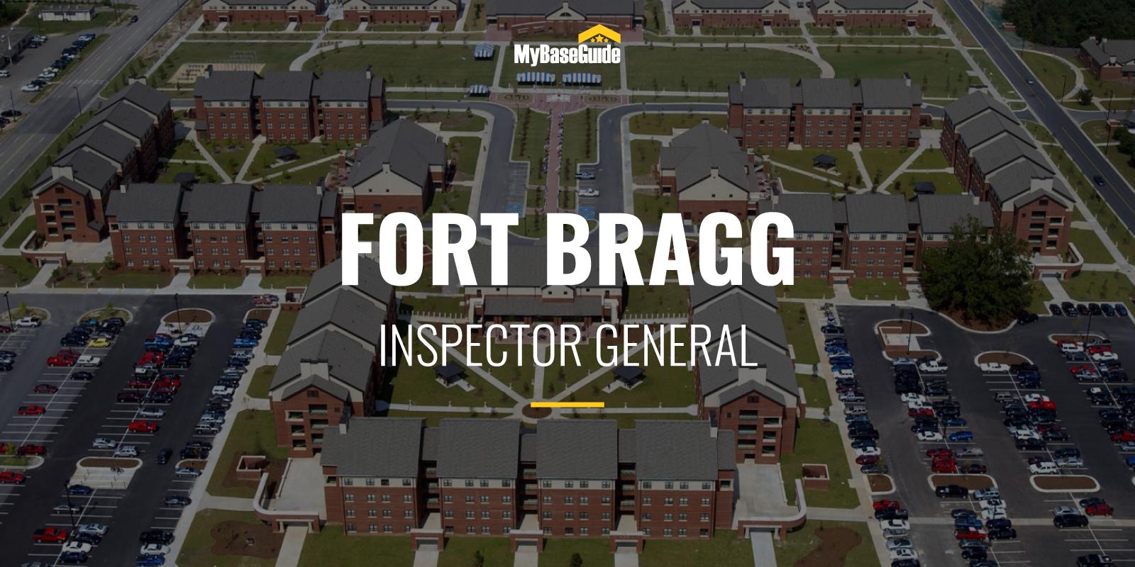 Fort Bragg Inspector General
