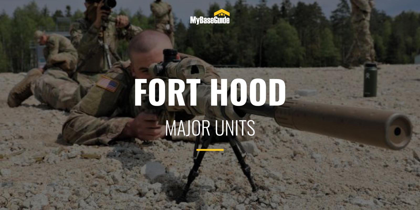 Fort Hood Major Units