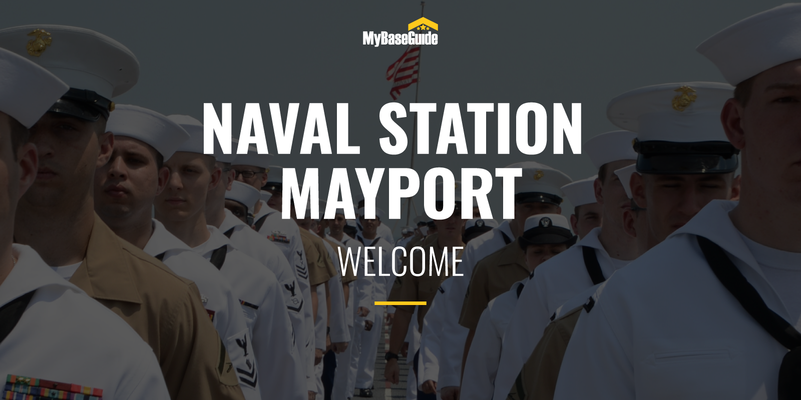 NS Mayport Welcome