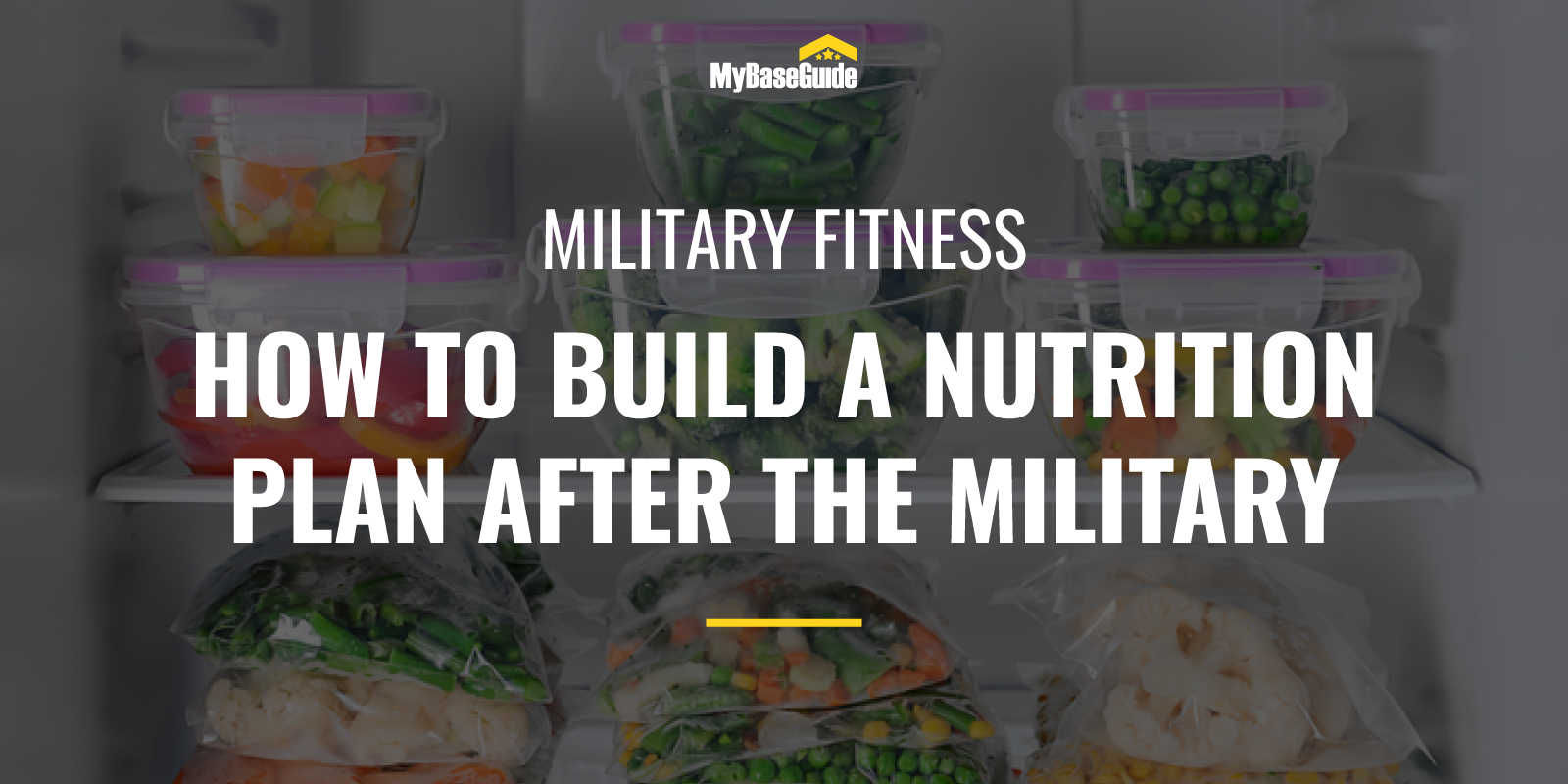 Build a Nutrition Plan