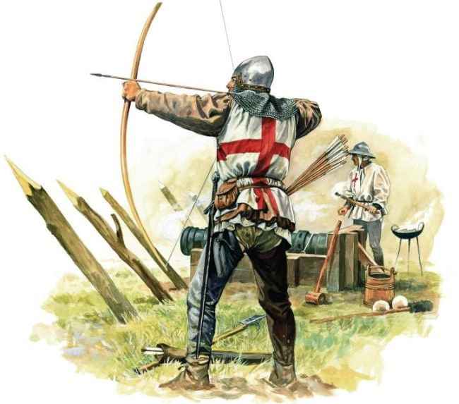 Typical English longbowman of the time.