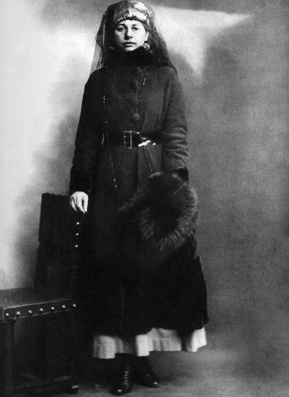 Mata Hari shortly after her arrest.