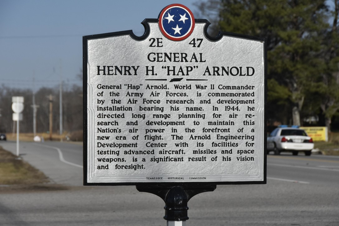 General Henry Arnold Historical Marker, Arnold Air Force Base