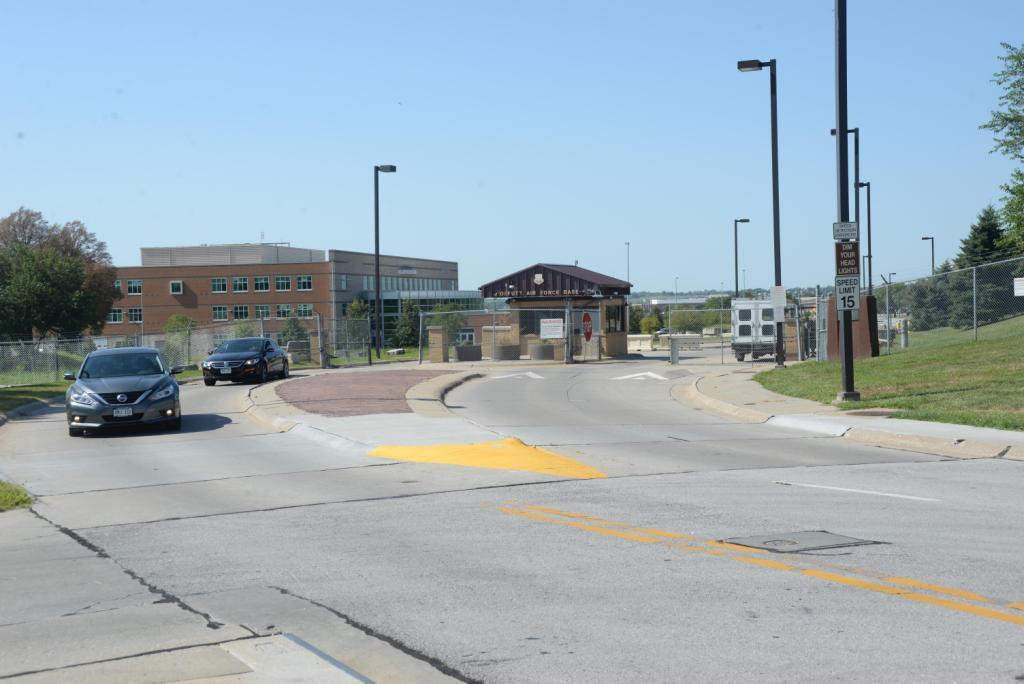 Bellevue Gate, Offut Air Force Base