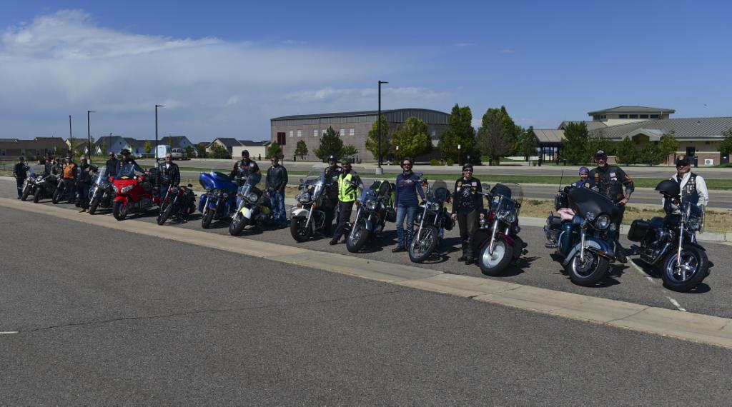 Motorcycles, Buckley Air Force Base