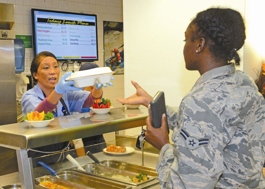 Dining Edwards Air Force Base