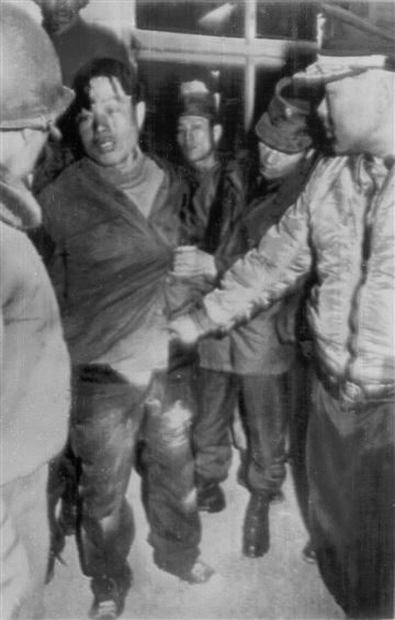 Kim Shin-jo, one of only two North Korean operative to survive the Blue House Raid, after his capture.