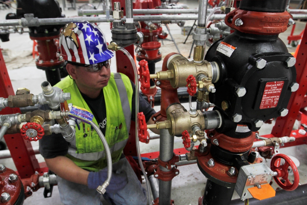 Veterans in Piping - Industrial Training Complex, Fort Sill