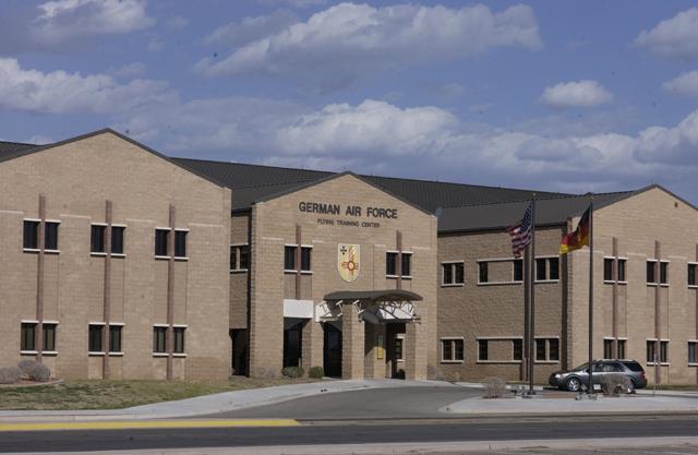 1st German Air Force Building, Holloman Air Force Base