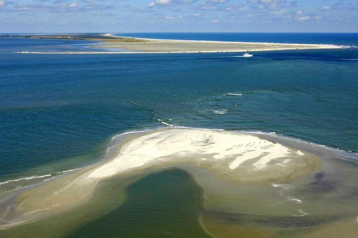 Ocracoke Inlet, North Carolina.
