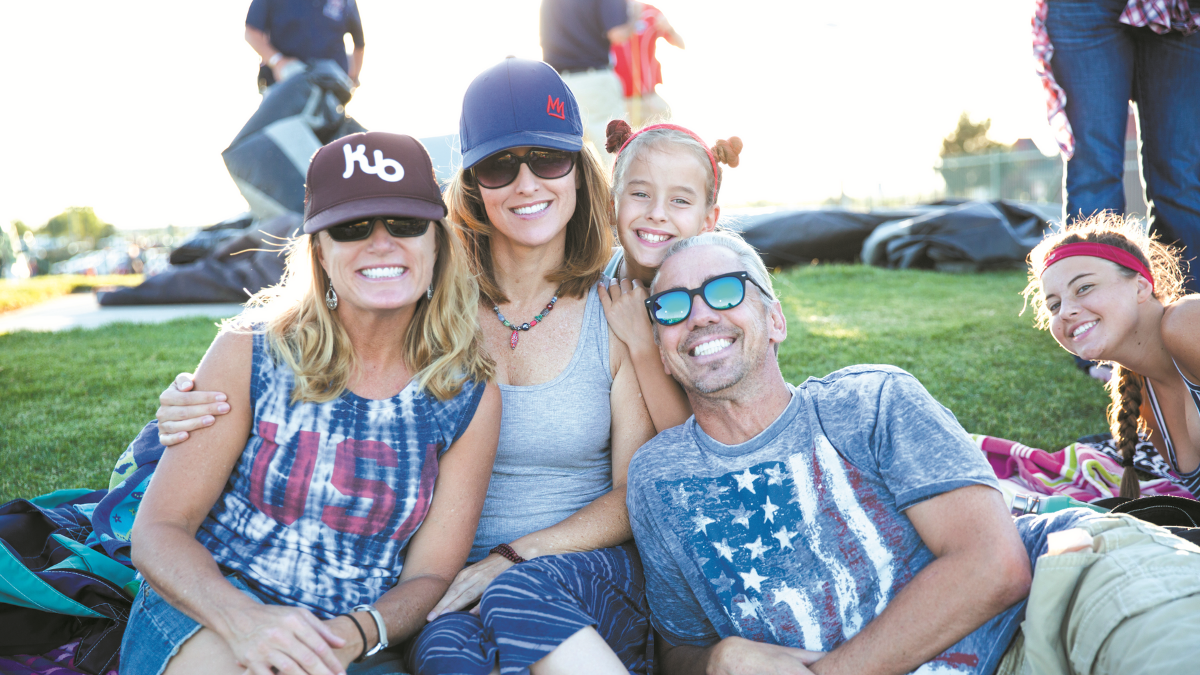 Family at outdoor event, Edwards Air Force Base Antelope Valley and Local Area