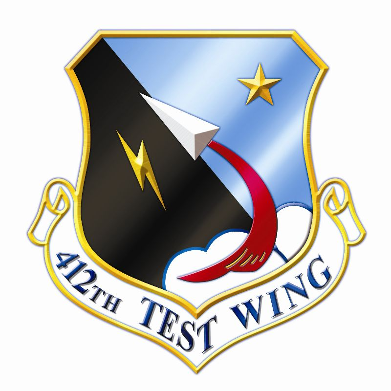 412th Test Wing logo, Edwards Air Force Base