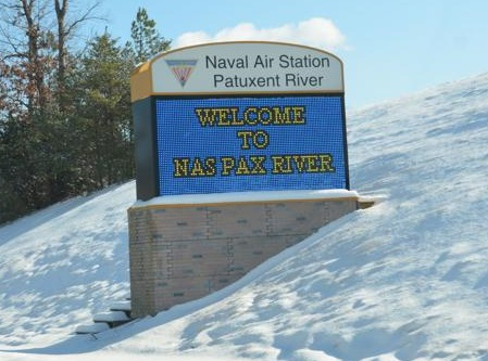 Front Gate NAS Patuxent River