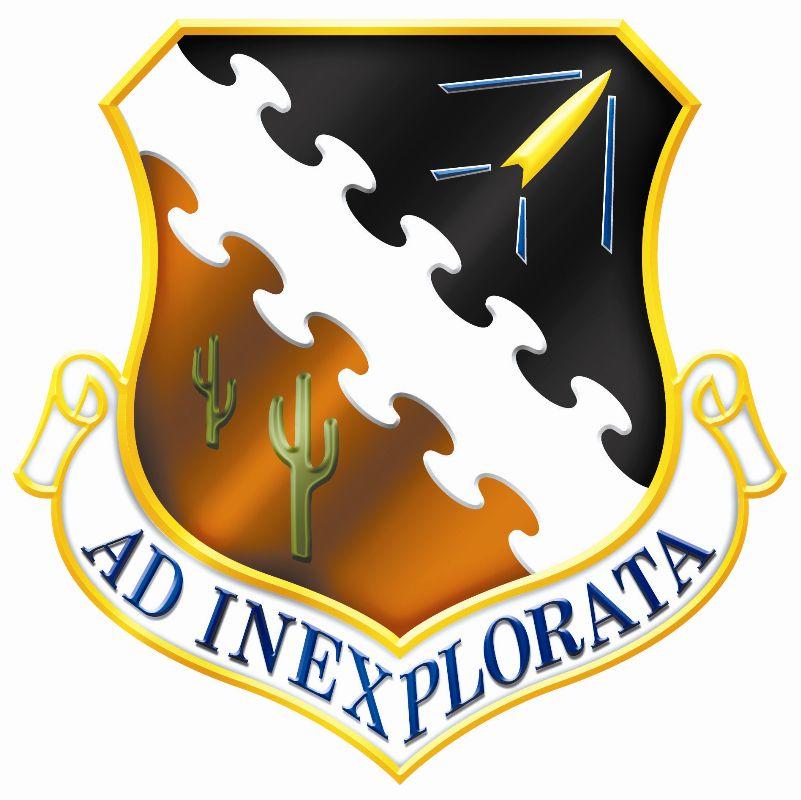 Air Force Test Center logo, Edwards Air Force Base