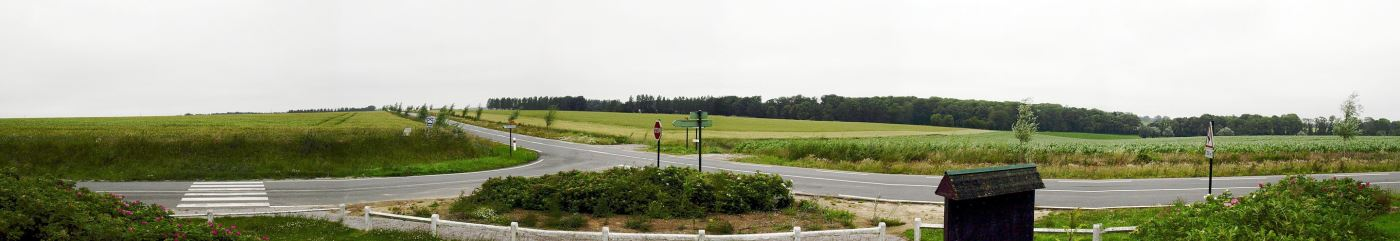 Believed to be the present day location of the Battle of Agincourt.