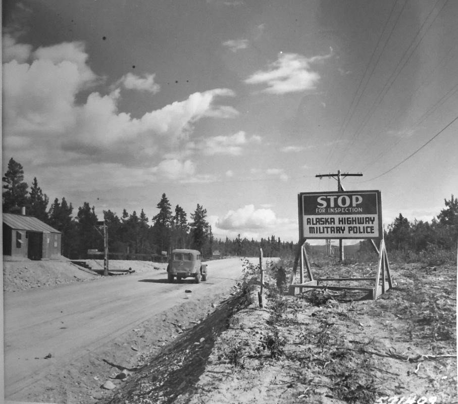 ALCAN Checkpoint, JBER History