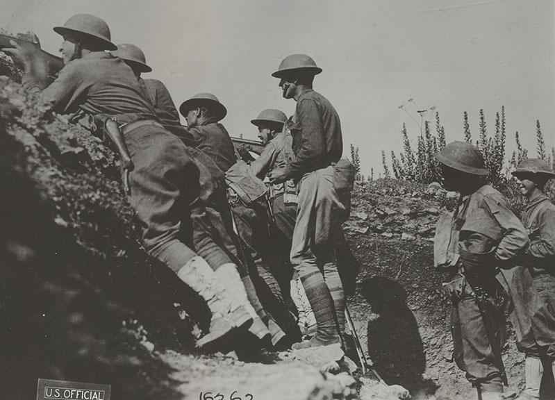 Members of the 82nd during the St. Mihiel Offensive.