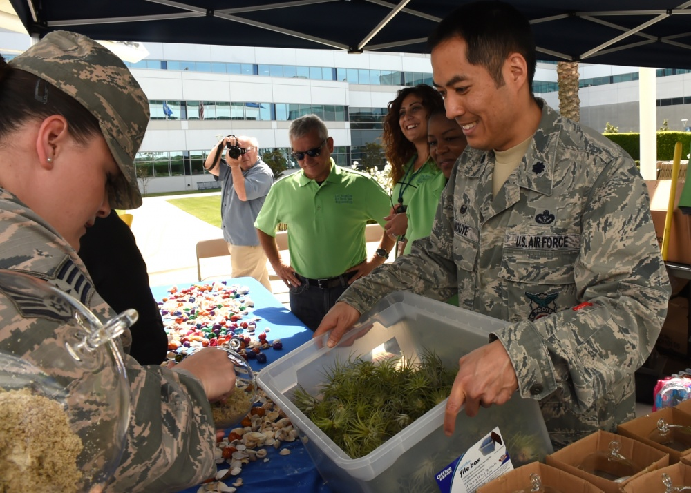 Airmen Earth Day, Los Angeles Air Force Base