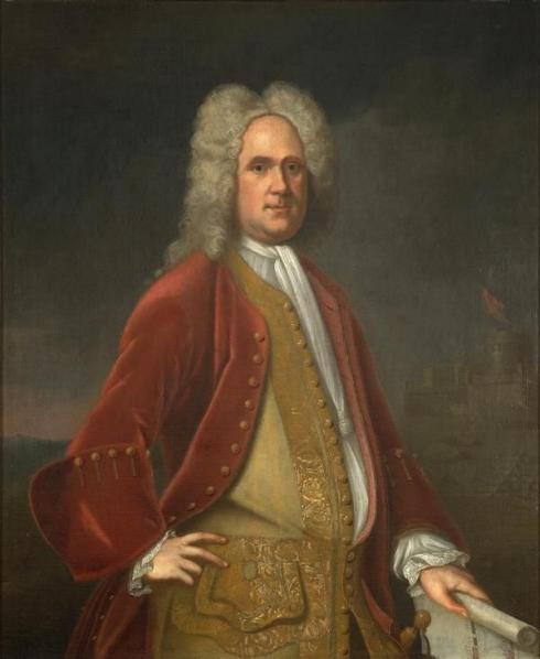 Governor Alexander Spotswood.