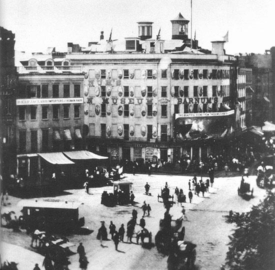 Barnum's American Museum, 1858.