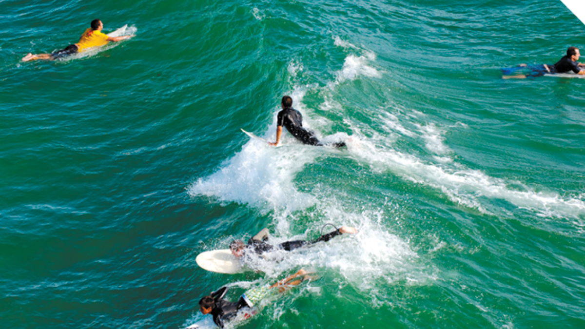 Huntington Beach Surfers, Edwards Air Force Base Southern California and Beyond