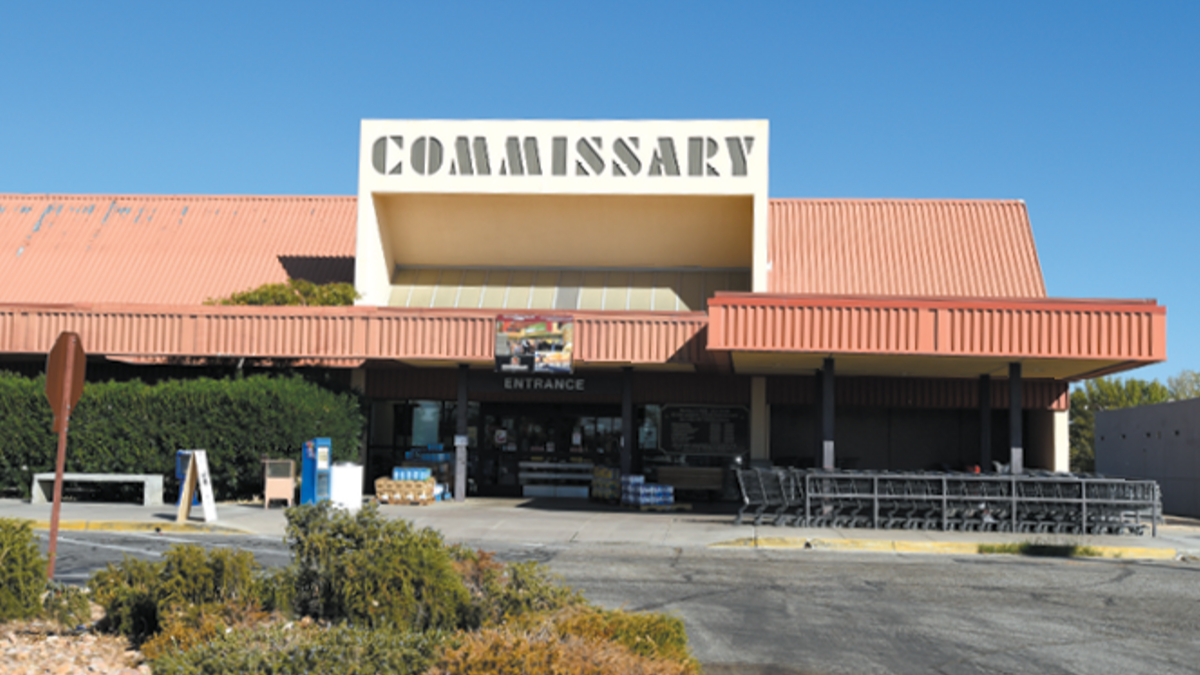 Commissary, Edwards Air Force Base Services and Shopping