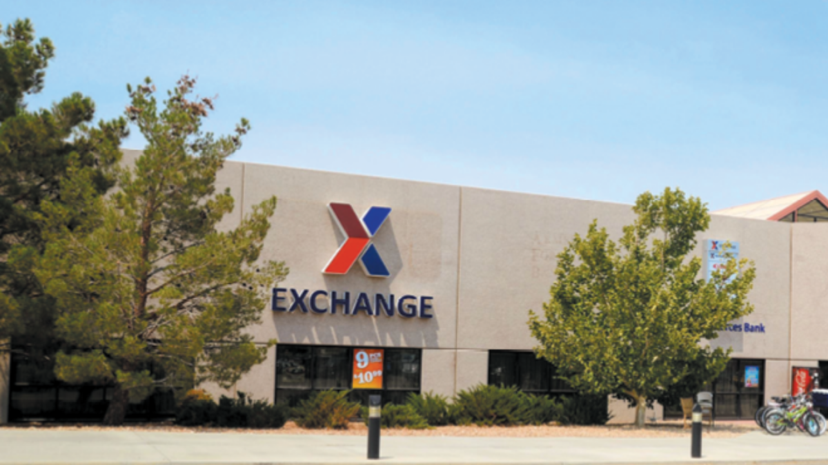 Exchange, Edwards Air Force Base Services and Shopping