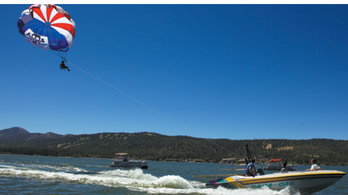 Big Bear Lake, CA; Edwards Air Force Base Southern California and Beyond