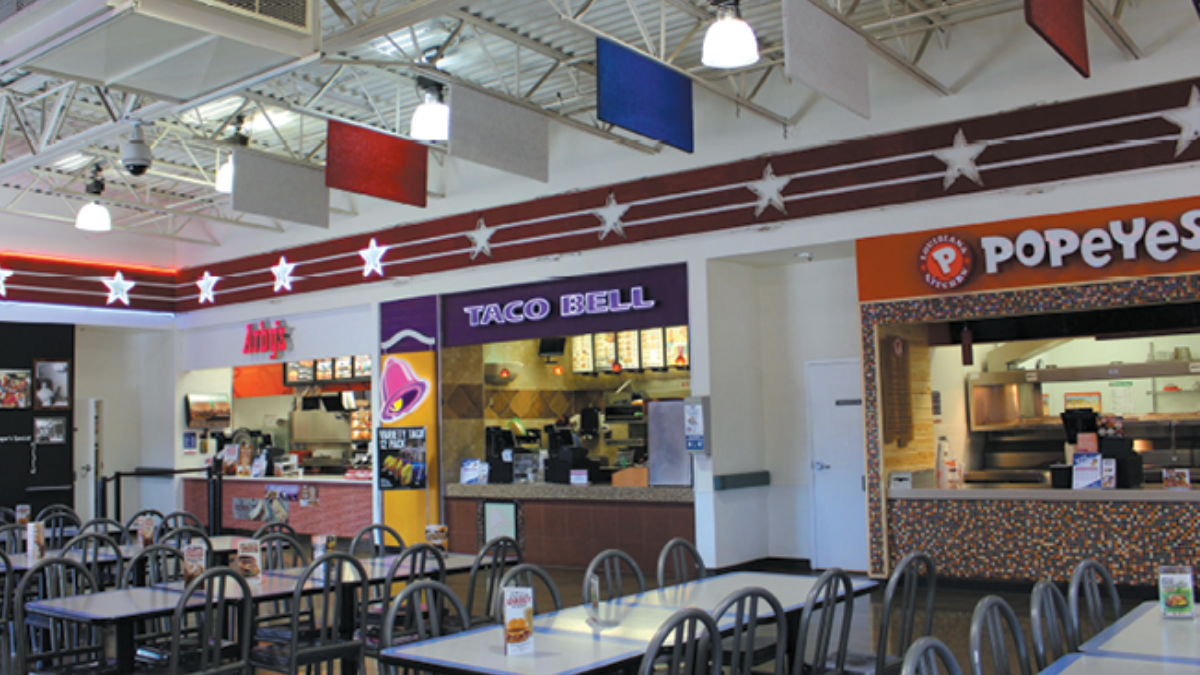 Popeye's, Arby's, Taco Bell, Edwards Air Force Base On Base Dining
