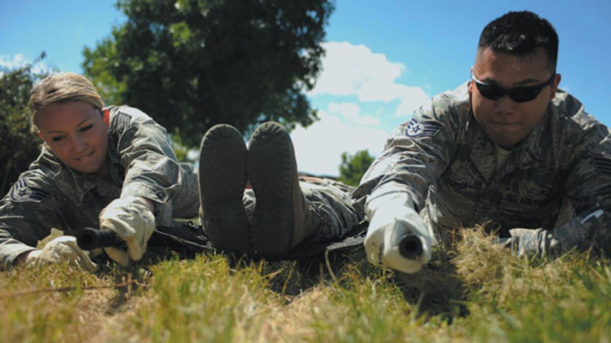 Ellsworth AFB Military Testing