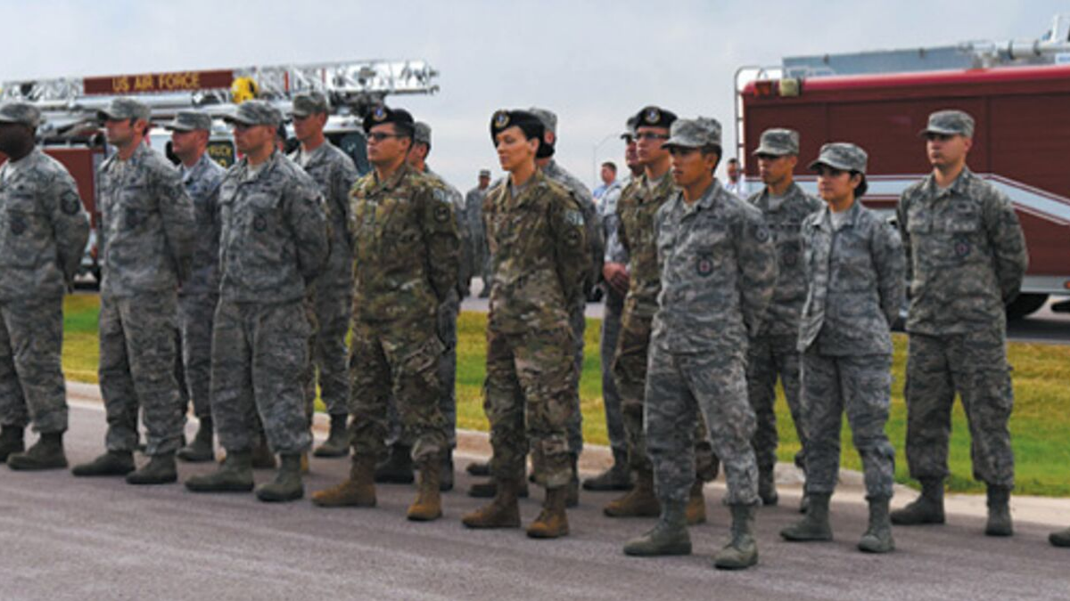 Ellsworth AFB Military Personnel