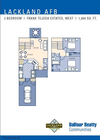 Frank Tejeda 2Bd Floor Plan