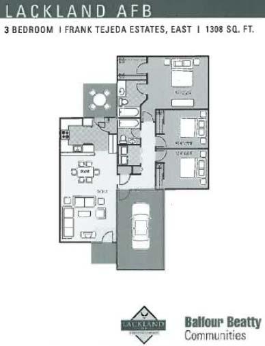 Frank Tejeda 3Bd Floor Plan