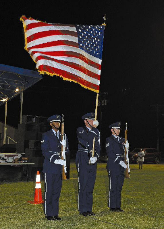 Flag Ceremony Honor Guard, Edwards Air Force Base Events