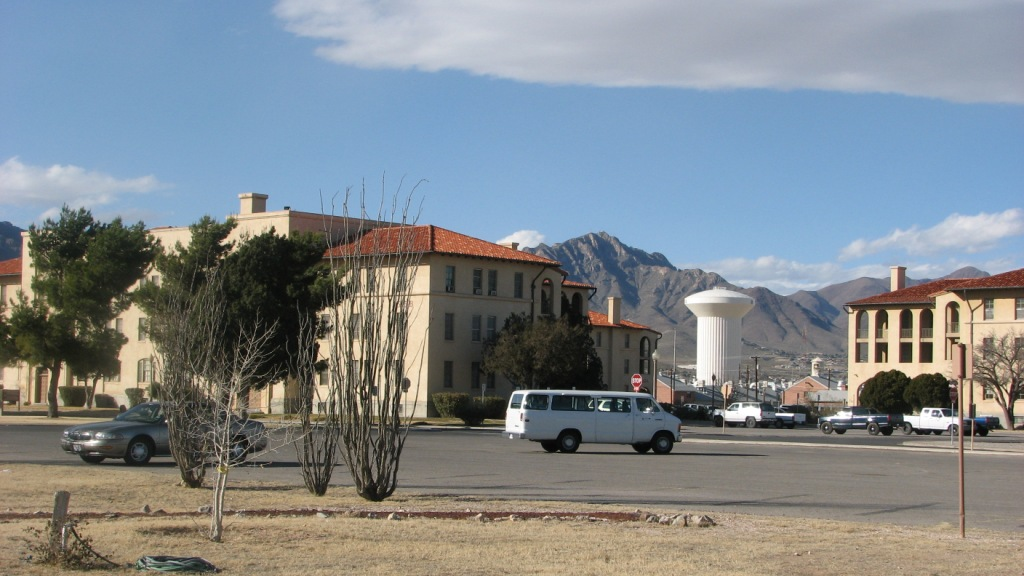 Building 500 area, Fort Bliss
