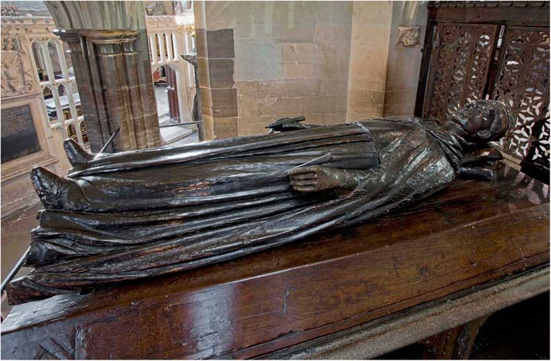Tomb of King Henry V in Westminster Abbey.