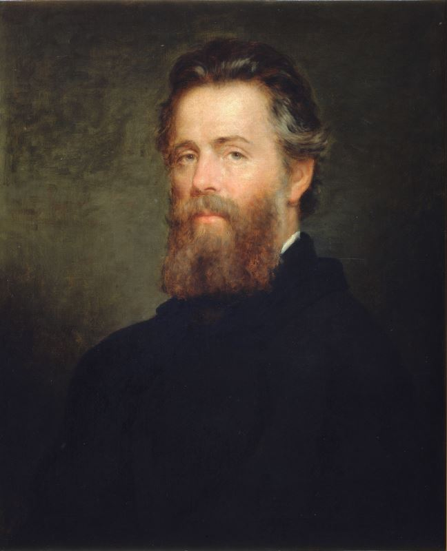 Portrait of Herman Melville, 1970