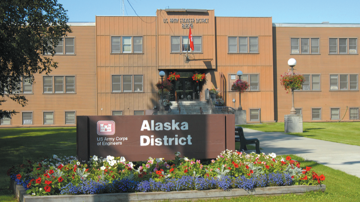 US Army Corps of Engineers Alaska District Building, Joint Base Elmendorf-Richardson, JBER