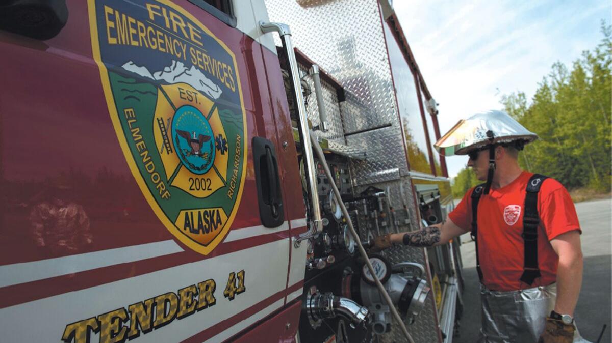 Fire engine, Joint Base Elmendorf-Richardson, JBER