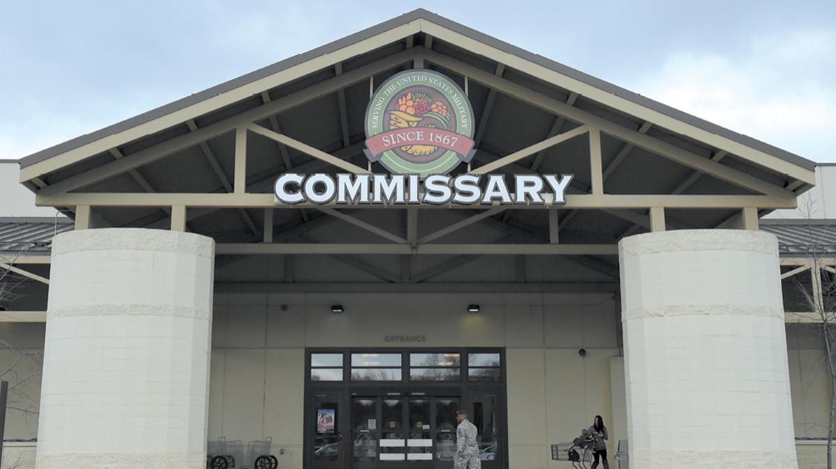Commissary building, Joint Base Elmendorf-Richardson, JBER
