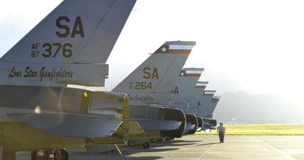 San Antonio Lackland Air Force Base History