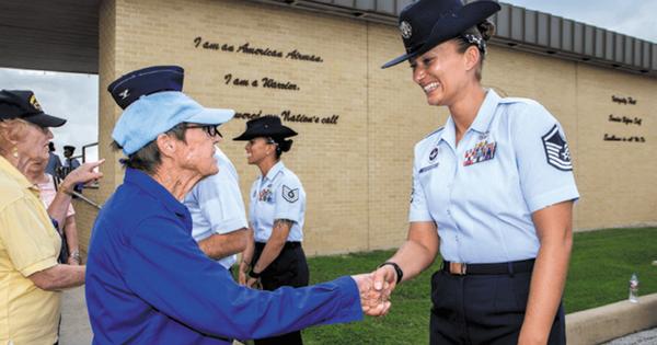 San Antonio Lackland Air Force Base Serving You