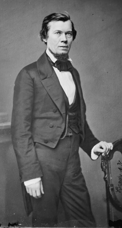 Photograph of Jacob Thompson taken sometime before the end of the Civil War.