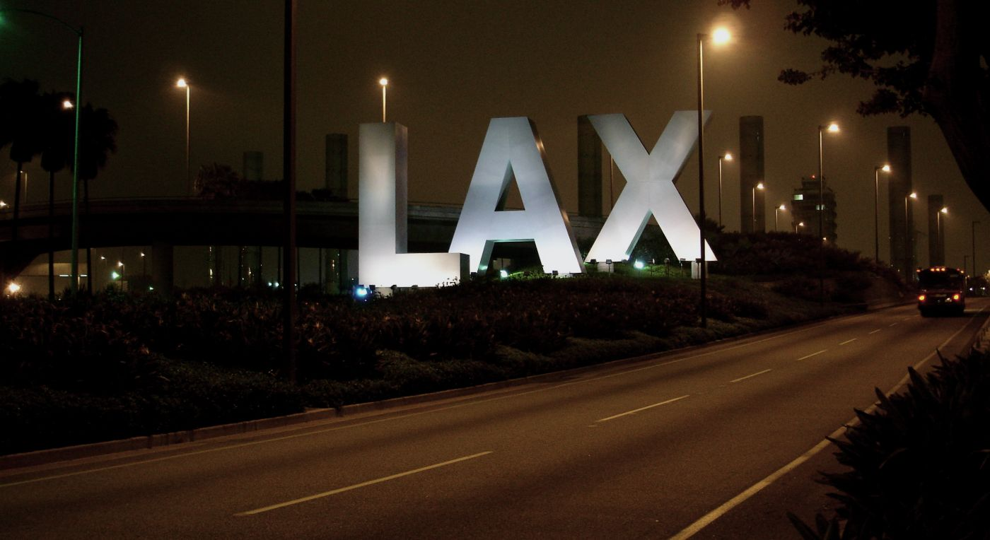 LAX Sign, Los Angeles Air Force Base