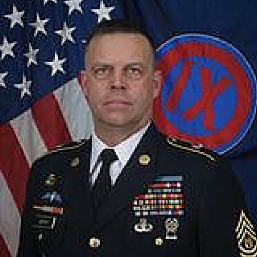 Command Sergeant Major Christopher S. Lindung