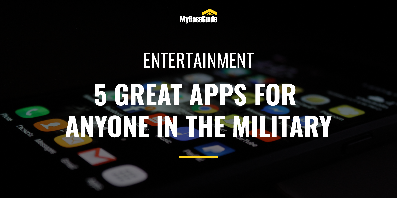5 Great Apps for Military Members